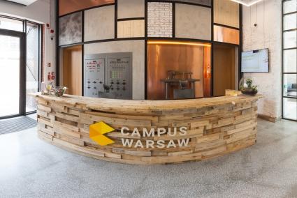 Spacer po Campus Warsaw
